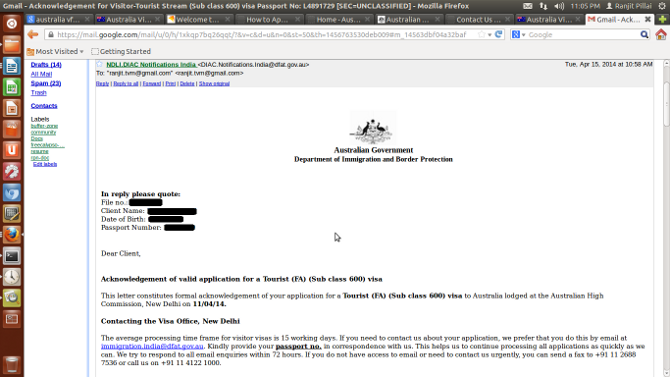 Diy Visitor Visa Tourist Stream Visa Subclass 600 Offsore Outside Australia Gnumen Org